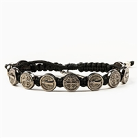 Benedictine Blessing Bracelet - Black Metals