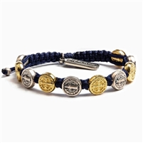 Benedictine Blessing Bracelet - Mix Metals