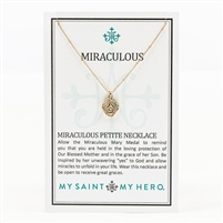 Miraculous Mary Pendant