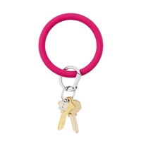 Oventure - Big O Silicone Key Ring - Scream Pink