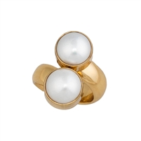 Charles Albert Pearl Alchemia Adjustable Ring