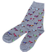 Multi Color Horse Socks