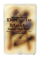 Bourbon Maple Sugar Swan Creek 5.25 oz. Break Apart Drizzle Melts