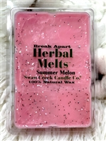 Summer Melon Swan Creek 5.25 oz. Break Apart Drizzle Melts