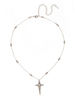 Delicate Cross Pendant Necklace