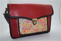 Genuine Leather Up-cycled Handbag