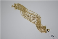 Zenzi Chain Bracelet Gold Plated