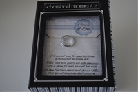 Sterling Silver Boy Circle of Love Chain/Baby Ring