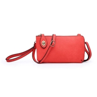 Kendall Twist Lock Crossbody Wristlet