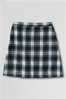 Lands' End Plaid A-Line Skirt