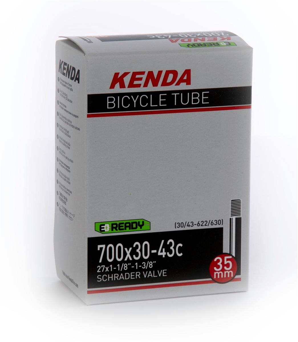 "KENDA 35mm Bicycle Tube 700c x 30-43/"" Schrader valve"