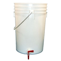 5 GALLON BOTLLING BUCKET W/SPIGOT