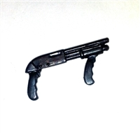 PUMP SHOTGUN with Front Grip - 1:18 Scale Weapon for 3 3/4 Inch Action Figures