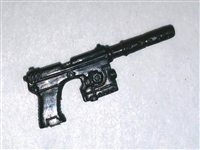 SOCOM Pistol w/ Silencer BLACK Version - 1:18 Scale Weapon for 3 3/4 Inch Action Figures