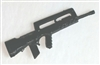 "FAMAS ""Bullpup"" Assault Rifle - 1:18 Scale Weapon for 3 3/4 Inch Action Figures"