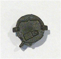 AMMO DRUM for MG34 Machine Gun BLACK Version - 1:18 Scale Weapon Accessory for 3-3/4 Inch Action Figures