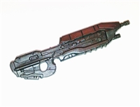 SPACE COMMAND Assault Rifle BLACK Version (1) - 1:18 Scale Weapon for 3-3/4 Inch Action Figures