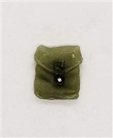 "Pocket: Small Size OLIVE GREEN Version - 1:18 Scale Modular MTF Accessory for 3-3/4"" Action Figures"