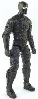 "MTF Male Trooper with Balaclava Head BLACK ""Night-Ops"" Version BASIC - 1:18 Scale Marauder Task Force Action Figure"