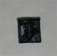"Ammo Pouch: Empty BLACK Version - 1:18 Scale Modular MTF Accessory for 3-3/4"" Action Figures"