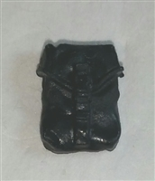 "Pocket: Large Size BLACK Version - 1:18 Scale Modular MTF Accessory for 3-3/4"" Action Figures"