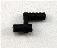 Steady-Cam Gun: Handle BLACK Version - 1:18 Scale Weapon Accessory for 3 3/4 Inch Action Figures