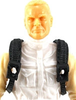 "Steady Cam Gun: Steady Cam Harness BLACK Version - 1:18 Scale Modular MTF Accessory for 3-3/4"" Action Figures"