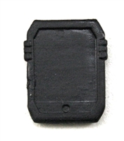 Smartpad / Computer Tablet: BLACK Version - 1:18 Scale MTF Accessory for 3 3/4 Inch Action Figures