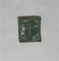"Ammo Pouch: Empty GREEN Version - 1:18 Scale Modular MTF Accessory for 3-3/4"" Action Figures"