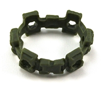 "Web Belt: GREEN Version - 1:18 Scale Modular MTF Accessory for 3-3/4"" Action Figures"