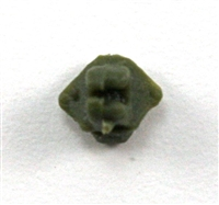 "Headgear: Helmet Mounting Plug for NVG Goggles GREEN Version - 1:18 Scale Modular MTF Accessory for 3-3/4"" Action Figures"