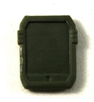 Smartpad / Computer Tablet: GREEN Version - 1:18 Scale MTF Accessory for 3 3/4 Inch Action Figures