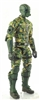 "MTF Male Trooper with Masked Goggles & Breather Head DARK GREEN ""Spec-Ops"" Version BASIC - 1:18 Scale Marauder Task Force Action Figure"