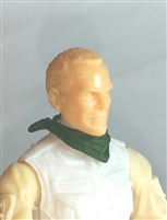 "Headgear:Standard Neck Scarf DARK GREEN Version - 1:18 Scale Modular MTF Accessory for 3-3/4"" Action Figures"