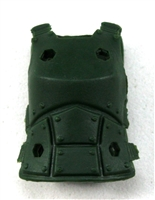 "Female Vest: Armor Type Dark Green Version - 1:18 Scale Modular MTF Valkyries Accessory for 3-3/4"" Action Figures"