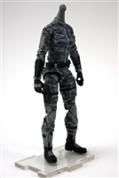 "MTF Female Valkyries Body WITHOUT Head GRAY Camo ""Urban-Ops"" Version BASIC - 1:18 Scale Marauder Task Force Action Figure"