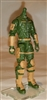 "MTF Male Trooper Body WITHOUT Head GREEN with Brown ""Range-Ops"" Version BASIC - 1:18 Scale Marauder Task Force Action Figure"