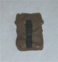 "Pocket: Large Size BROWN Version - 1:18 Scale Modular MTF Accessory for 3-3/4"" Action Figures"