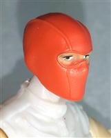 "Male Head: Balaclava Mask ORANGE Version - 1:18 Scale MTF Accessory for 3-3/4"" Action Figures"