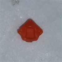 "Headgear: Helmet Plug ORANGE Version - 1:18 Scale Modular MTF Accessory for 3-3/4"" Action Figures"