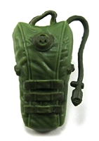 "Camel Hydration Pack: LIGHT GREEN Version - 1:18 Scale Modular MTF Accessory for 3-3/4"" Action Figures"