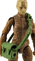 "Satchel Case with Strap: LIGHT GREEN Version - 1:18 Scale Modular MTF Accessory for 3-3/4"" Action Figures"