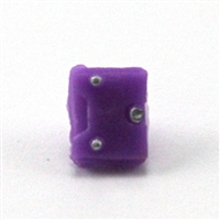 "Armor Panel: Small Size PURPLE Version - 1:18 Scale Modular MTF Accessory for 3-3/4"" Action Figures"
