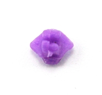 "Headgear: Helmet Mounting Plug for NVG Goggles PURPLE Version - 1:18 Scale Modular MTF Accessory for 3-3/4"" Action Figures"
