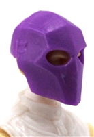"Armor Mask: PURPLE Version - 1:18 Scale Modular MTF Accessory for 3-3/4"" Action Figures"