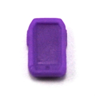Smartphone / Mobile Phone: PURPLE Version - 1:18 Scale MTF Accessory for 3 3/4 Inch Action Figures