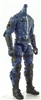 "MTF Male Trooper Body WITHOUT Head BLUE with Black ""Security-Ops"" Version BASIC - 1:18 Scale Marauder Task Force Action Figure"