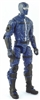"MTF Male Trooper with Balaclava Head BLUE and Black ""Security-Ops"" Version BASIC - 1:18 Scale Marauder Task Force Action Figure"
