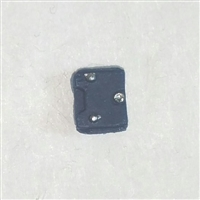 "Armor Panel: Small Size BLUE Version - 1:18 Scale Modular MTF Accessory for 3-3/4"" Action Figures"