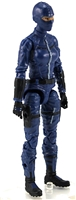"MTF Female Valkyries with Balaclava Head BLUE ""Security-Ops"" Version BASIC - 1:18 Scale Marauder Task Force Action Figure"